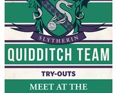 Slytherin Quidditch Tryouts