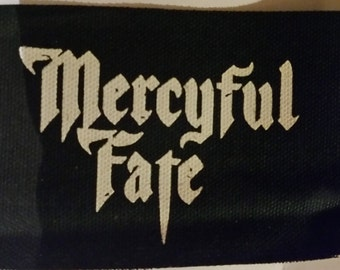 MERCYFUL FATE Patch - Metal Black Canvas