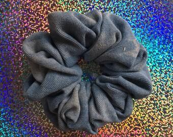 BLEACHED DENIM Hair Scrunchie