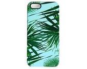Kuta palm leaf print phone case - iPhone SE, iPhone 6 Plus, iPhone 5C, Samsung Galaxy S7, iPhone 5/5s, iPhone 7, iPhone 7 Plus