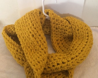 Extra Chunky Crochet Infinity Scarf, Thick Infinity Scarf, Big Scarf, Knit Scarf, Winter Scarf, Infinity Scarf
