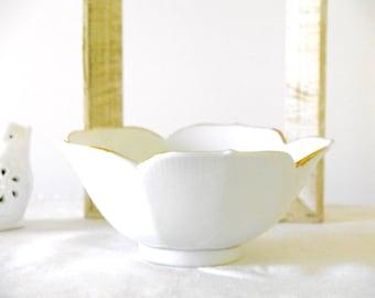 Porcelain Victorian Hand Painted Bowl