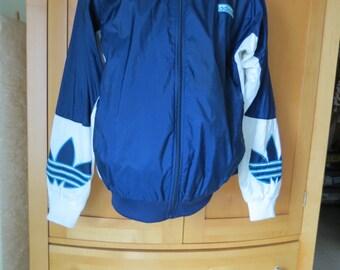 adidas 1970s taiwan trefoil nylon jacket hip hop