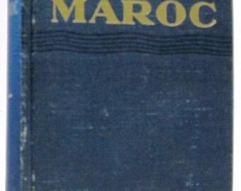 Les Guides Bleus, Maroc: Prosper Ricard