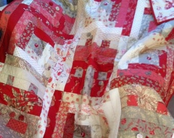 SALE - French General Lap Quilt/Wall Hanging