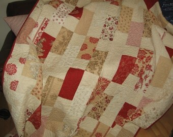 French General Lap Quilt