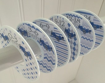 6 Baby Closet Dividers Clothes Clothes Clothes Dividers Closet Organizers Baby Shower Gift Airplanes Boy