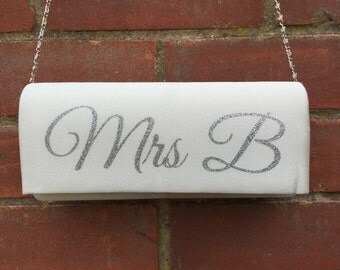 Bespoke Bridal Clutch Bag