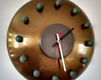 Amazing Modernist Atomic Wall Clock