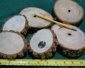 6 Wood Slices