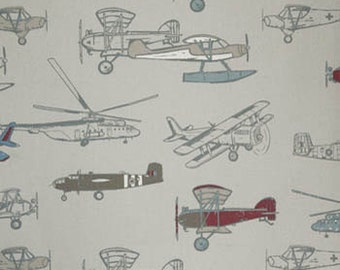 Vintage Air Print Crib Sheet