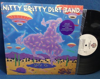 "Vintage, Nitty Gritty Dirt Band - ""Hold On"" Vinyl LP Record Album, Original First Press, Baby's Got A Hold On Me, Fishin' In The Dark, PROMO"