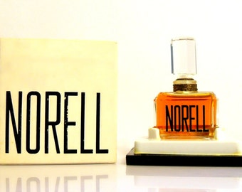 Vintage 1970s Norell by Norell 1/4 oz Pure Parfum Sealed Bottle Perfume and Box