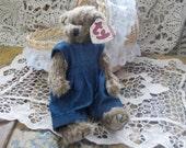 1993 Ty Beanie Baby Bear Wee Willie 6021 /:)S