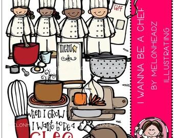 I Wanna be a Chef clip art