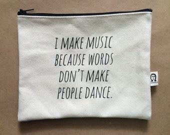 i make music pouch
