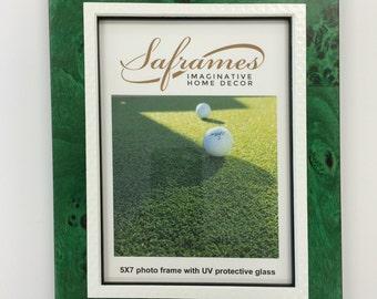 Golf Themed Photo Frame 5x7/ Golfer gift