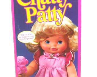 "Vintage 1983 Mattel Chatty Patty 16"" Talking Doll Mint In Box, Antique Alchemy"