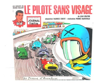 1960 Le Pilote Sans Visage (Journal TinTin) LP, French Version, Antique Alchemy