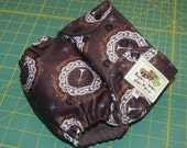 LOTR baby One-Size Pocket Diaper / OS Cover / Swim Diaper in White Tree PUL - Custom Order