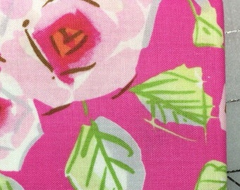 Dena Designs-Tiddlywinks - Love by Free Spirit - FAT QUARTER - PWDF184 in Pink - 100% cotton
