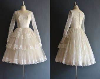 Luella / 50s wedding dress / short wedding dress