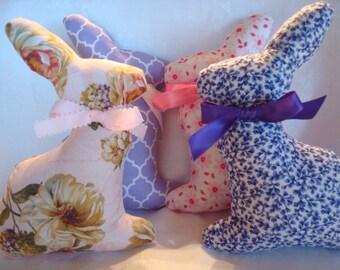 Fabric Stuffed Bunny