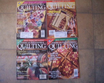 American Patchwork and Quilting Magazines