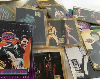 The Elvis Collection trading cards, collect photos and fun facts