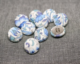 Liberty of London Lodden Fabric Covered Buttons