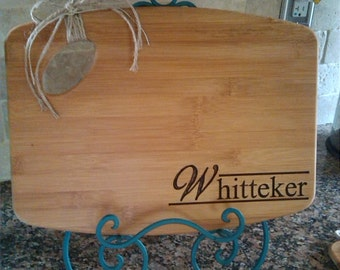 Traditional Personalized Cutting Board-Engraved