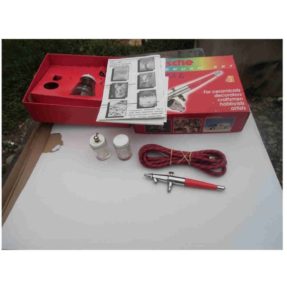 Paasche Airbrush Cake Decorating : Brand new Paasche dual action vl airbrush bundle