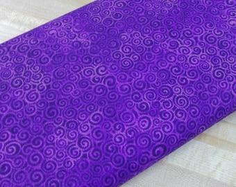 Laurel Burch swirls purple