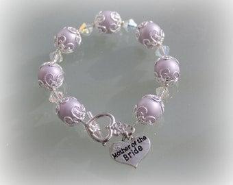 Mother Of The Bride Bracelet Wedding Jewellery Bridal Jewelry Mother Of Groom Wedding Gift Gifts For Mom
