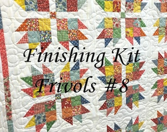 "Finishing KIT - FRIVOLS 8 - Bread and Butter - by American Jane for Moda - ""Brio"" Quilt Pattern"
