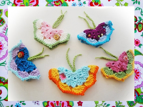 Crochet Butterfly Pattern