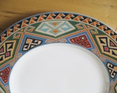 Christopher Stuart Brea  Fine China Dinner Plates Set of 3 Very good  Rare and beautiful