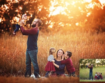 INSTANT DOWNLOAD - ColorFall – Fall Photoshop Action Collection for Photoshop & PSE - Autumn Photoshop Actions - Fall Session
