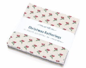 Christmas Gatherings Carm Pack by Primitive Gatherings for Moda