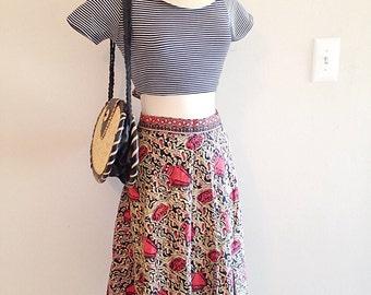 Vintage Tribal Hippie Wrap Skirt
