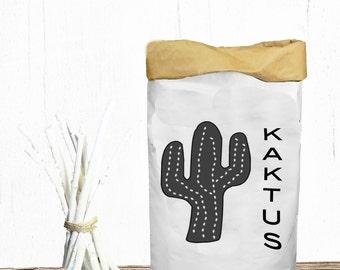 Paperbag printed KAKTUS Toys Box
