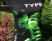 Type O Negative Black No. 1  ladies halter top sexy flattering top for fans of peter steele, heavy metal, doom etc... Many sizes available.