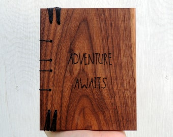 Adventure Awaits Wanderlust decal Not all those who wander are lost Adventure journal Travel Journal Wanderlust sign