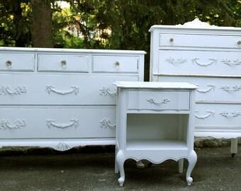 Shabby Chic Dresser - Bedroom Set