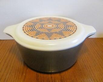 Pyrex Pueblo 2.5 Quart Casserole Dish Charcoal Grey