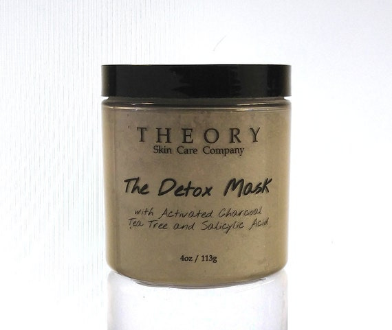 Why Activated Charcoal Is A Must For Skincare Masks: Activated Charcoal Detox Face Mask Salicylic By TheorySkinCare