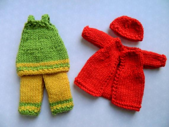 Rag Knitting Patterns : Rag Doll Pattern, Rag Doll Dress, Knit Doll, Autumn,Doll Pattern,Doll Knittin...