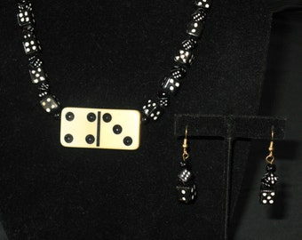 Lucky Number 4-3 Necklace