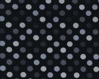 Robert Kaufman - Spot On Polka Dots EZC-12872-188 in Pepper