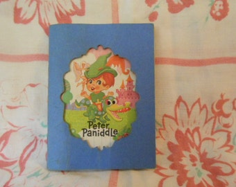 Peter Paniddle 1966 Mattel Storybook Kiddles